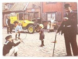 SCANIA VABIS PAKETAUTOMOBIL, LEVERERAD TILL KGL POSTVERKET I MAJ 1913