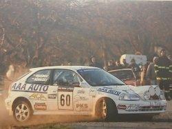 RAJD WRC 2005 ZDJĘCIE NUMER #304 HONDA CIVIC