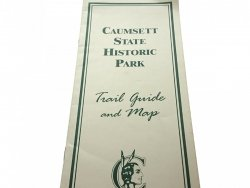 CAUMSETT STATE HISTORIC PARK. TRAIL GUIDE AND MAPS