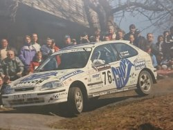 RAJD WRC 2005 ZDJĘCIE NUMER #294 HONDA CIVIC