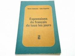 EXPRESSIONS DU FRANCAIS DE TOUS LES JOURS Dobrucka