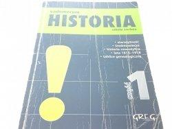 VADEMECUM HISTORIA SZKOŁA ŚREDNIA CZĘŚC 1