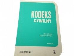 KODEKS CYWILNY (1999)