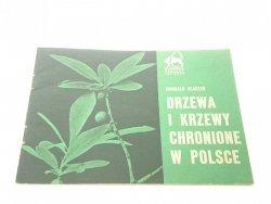 DRZEWA I KRZEWY CHRONIONE W POLSCE Olaczek (1974)