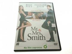 MR. AND MRS. SMITH. BRAD PITT ANGELINA JOLIE. DVD