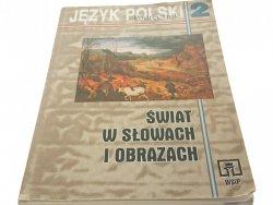 JĘZYK POLSKI 2 PODRĘCZNIK - Witold Bobiński (2000)