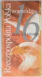 RZECZPOSPOLITA POLSKA WOJEWÓDZTW 1: 1 100 000