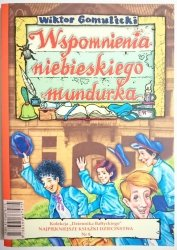 WSPOMNIENIA NIEBIESKIEGO MUNDURKA - Gomulicki