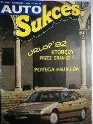 AUTO SUKCES NR 6/92