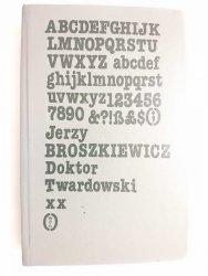 DOKTOR TWARDOWSKI TOM II - Jerzy Broszkiewicz 1987