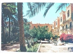 ALGERIE. BISKRA – L'HÓTEL TRANSATLANTIQUE. ALGERIA