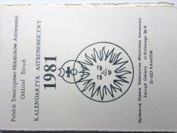 KALENDARZYK ASTRONOMICZNY 1981