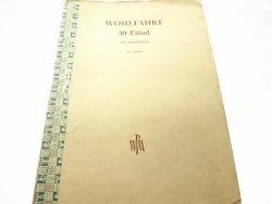 30 ETIUD NA SKRZYPCE - WOHLFAHRT 1952