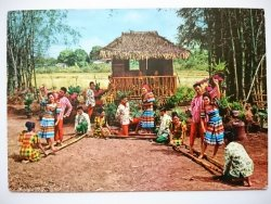 PHILIPPINES - TINKLING. NATIVE DANCE