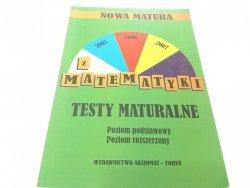 NOWA MATURA Z MATEMATYKI. TESTY MATURALNE 2004