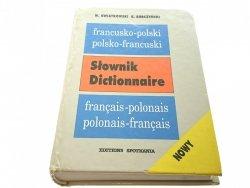 SŁOWNIK DICTIONNAIRE FRANCUSKO-POLSKI; POLSKO