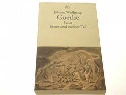 FAUST. ERSTER UND ZWEITER TEIL - J. W. Goethe 1999