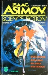 ISAAC' ASIMOV'S SCIENCE FICTION MAGAZINE CZERWIEC 1992