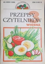 PRZEPISY CZYTELNIKÓW. WIOSNA 1994