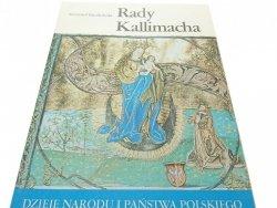 DNiPP: RADY KALLIMACHA - Krzysztof Baczkowski