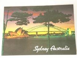 SYDNEY AUSTRALIA. THE HARBOUR BRIDGE AND OPERA