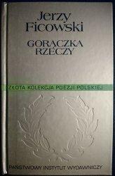 GORĄCZKA RZECZY - Jerzy Ficowski 2002