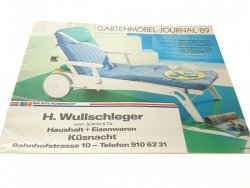 GARTENMOBEL-JOURNAL 89 H. WULLSCHLEGER