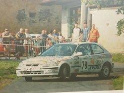 RAJD WRC 2005 ZDJĘCIE NUMER #017 HONDA CIVIC