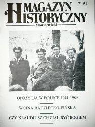 MAGAZYN HISTORYCZNY MÓWIĄ WIEKI NR 7'91