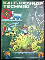 KALEJDOSKOP TECHNIKI NR 7 (350) 1986