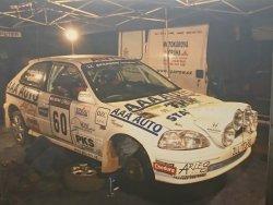 RAJD WRC 2005 ZDJĘCIE NUMER #319 HONDA CIVIC