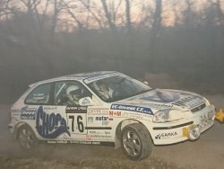 RAJD WRC 2005 ZDJĘCIE NUMER #298 HONDA CIVIC