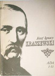ADA I-II - Józef Ignacy Kraszewski 1986