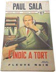 L'INDIC A TORT - Paul Sala (1974)