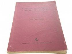 GŁÓWNE ZAGADNIENIA I KIERUNKI FILOZOFII 1 (1960)