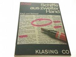 SCHIFFE AUS ZWEITER HAND - Hans Donat (1987)