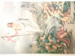 JEZUS CHRYSTUS ZMARTWYCHWSTAŁ OBRAZEK Z ŻYCZENIAMI