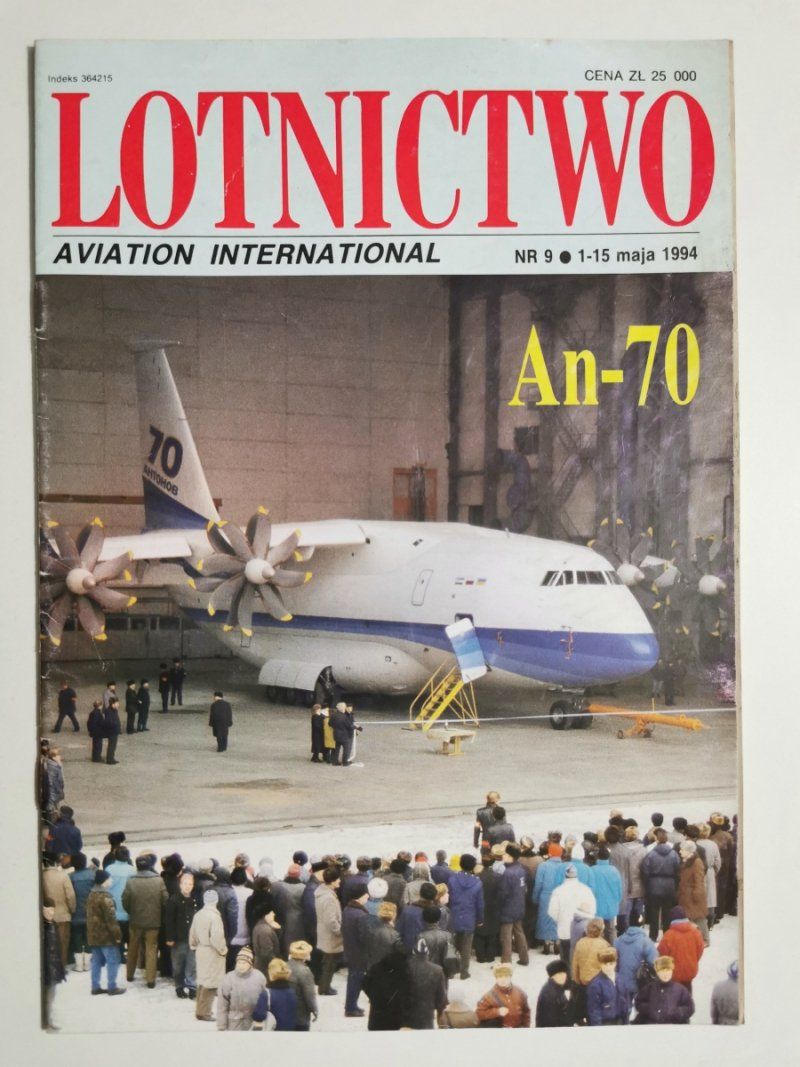 LOTNICTWO NR 9 1994