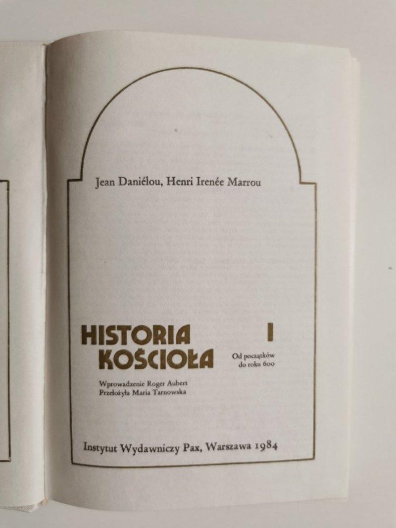 HISTORIA KOŚCIOŁA TOM I OD POCZĄTKÓW DO ROKU 600 1984