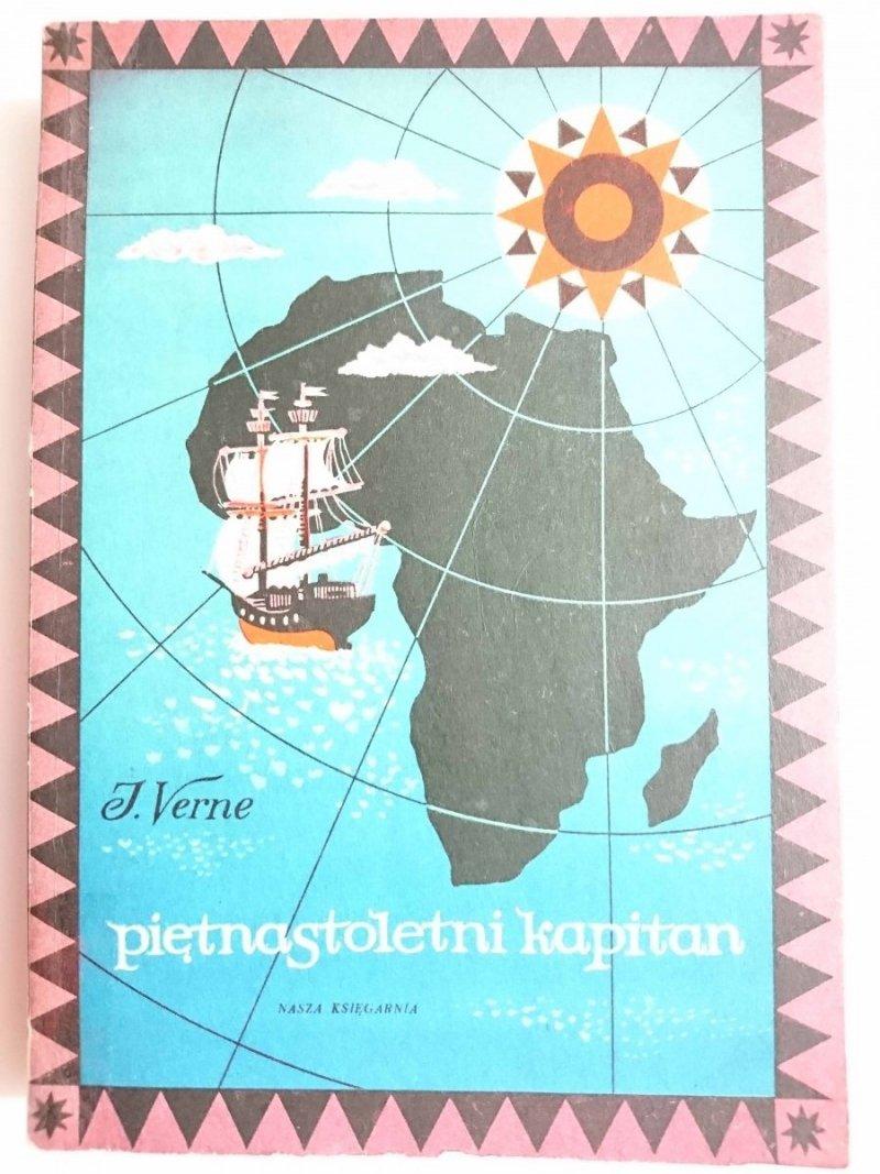 PIĘTNASTOLETNI KAPITAN - Juliusz Verne 1970