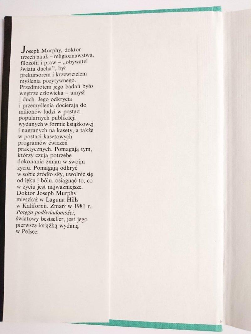 POTĘGA PODŚWIADOMOŚCI - Joseph Murphy 1996