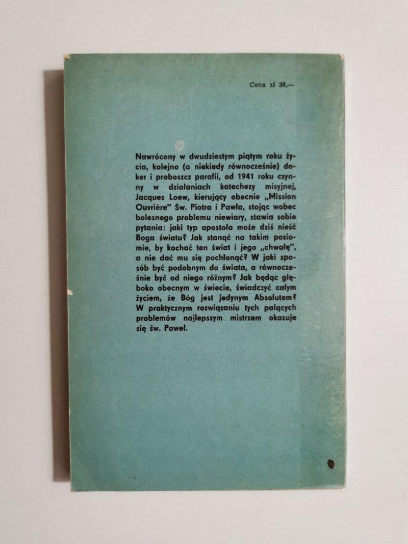 WYTRWAŁ JAKBY WIDZĄC NIEWIDZIALNEGO - Jacques Loew 1973