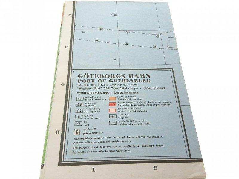 GOTEBORGS HAMN_THE PORT OF GOTHENBURG - MAP