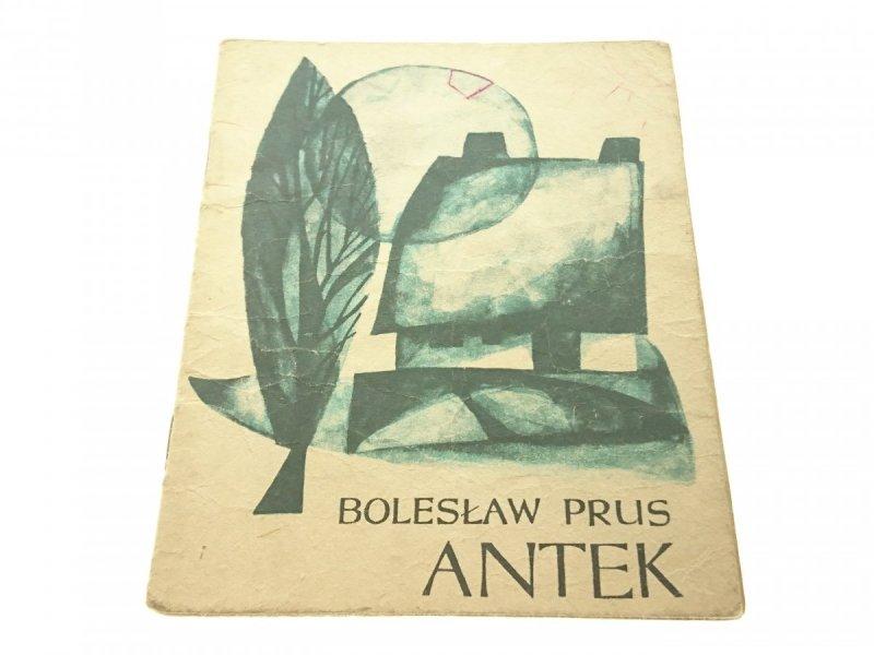 ANTEK - Bolesław Prus (1966)