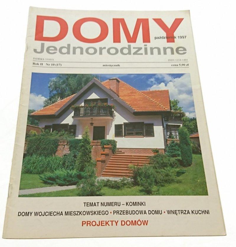 DOMY JEDNORODZINNE NR 10 (17) PAŹDZIERNIK 1997