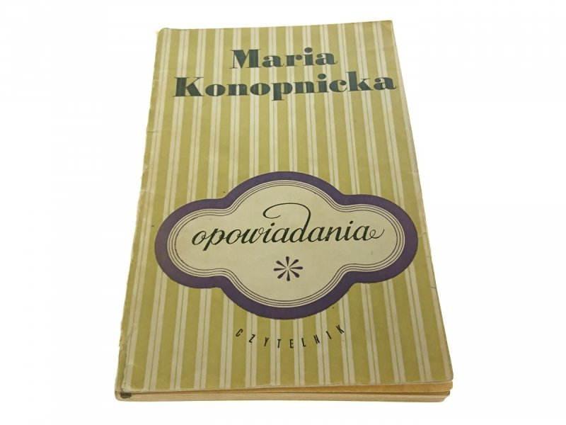 OPOWIADANIA - Maria Konopnicka (1968)