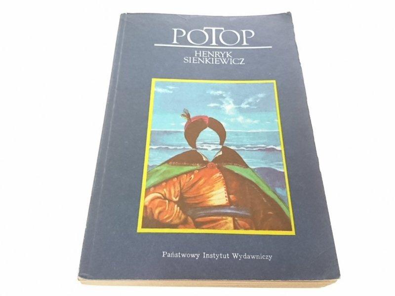 POTOP TOM 3 - Henryk Sienkiewicz 1984