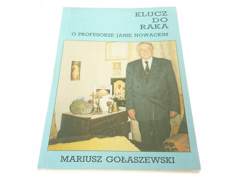 KLUCZ DO RAKA - Mariusz Gołaszewski 1995