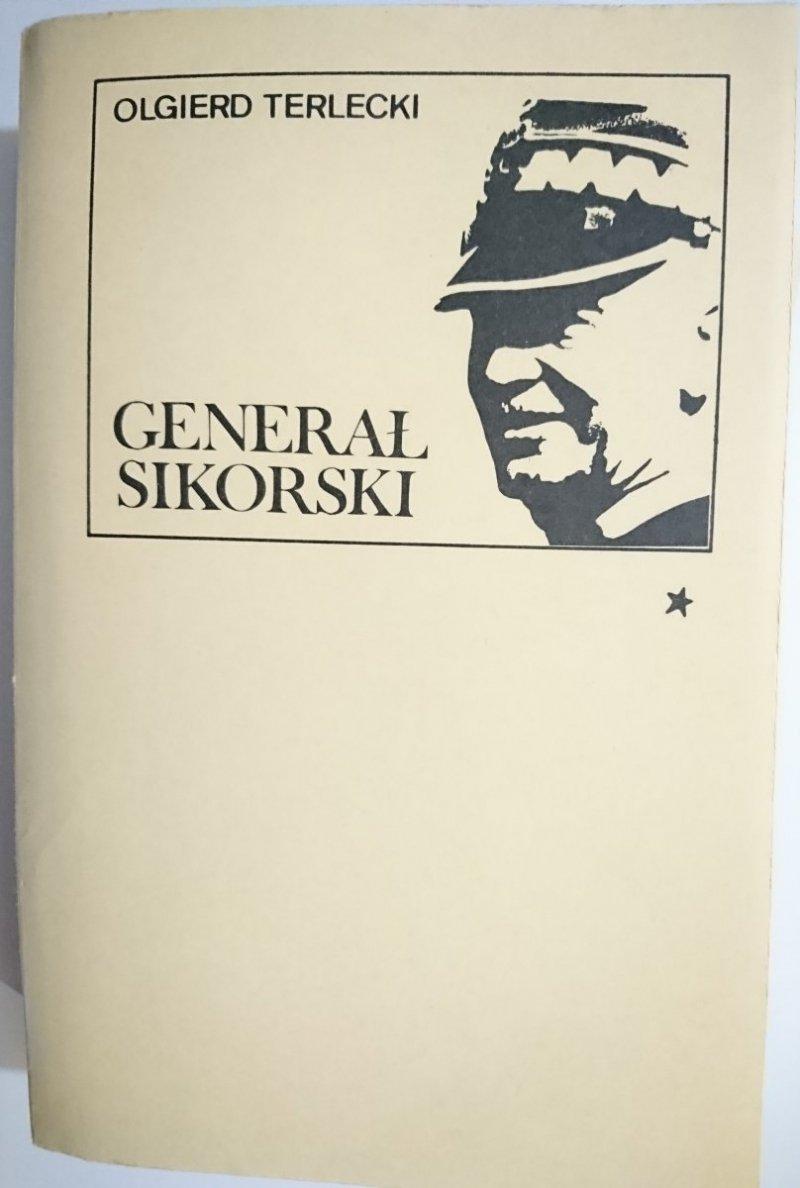 GENERAŁ SIKORSKI TOM I - Olgierd Terlecki 1981