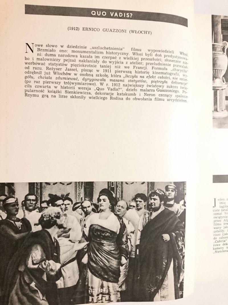 MAŁA HISTORIA FILMU W ILUSTRACJACH - Jerzy Płażewski 1957